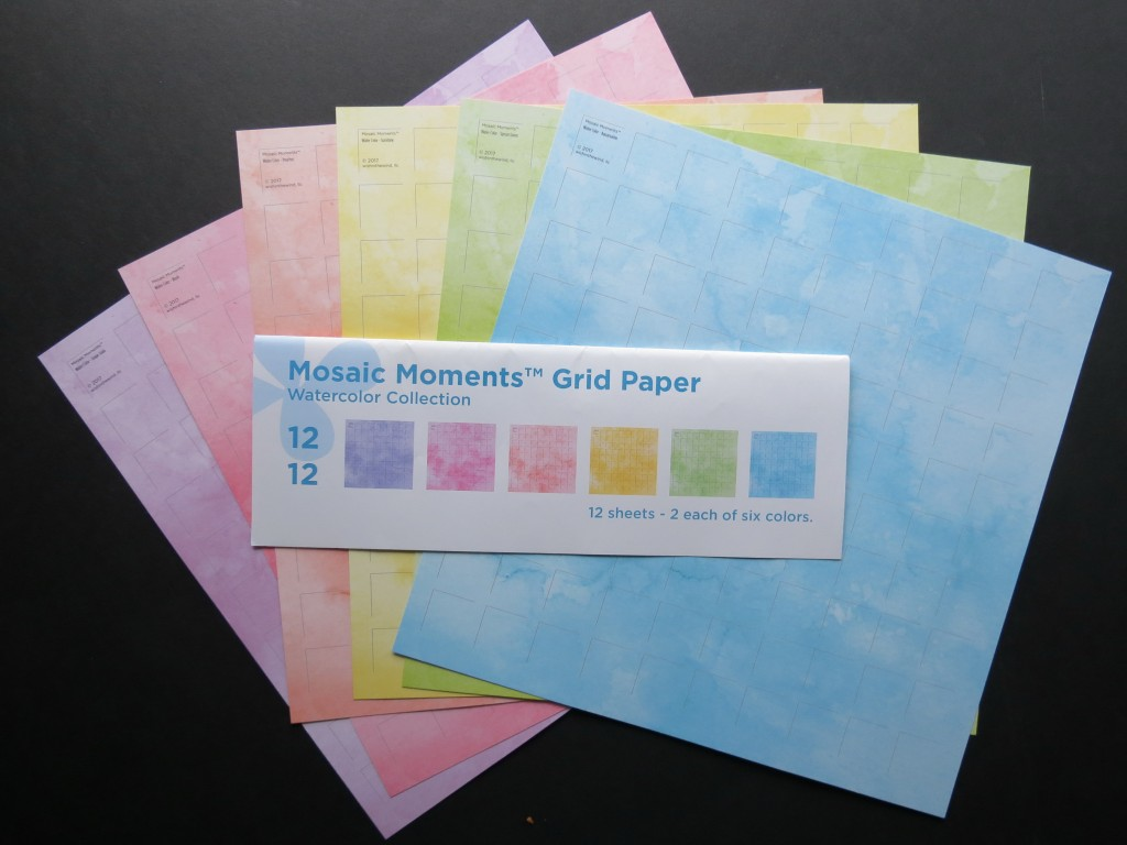 Mosaic Moments Watercolor Grid Papers