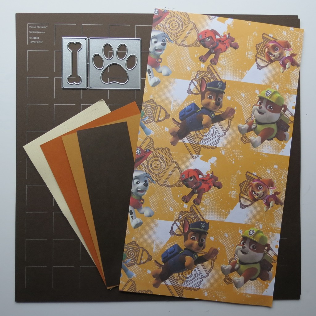 Mosaic Moments Pattern Refresher Course with the Paw & Bone Die Set, Cocoa Grid Paper