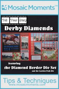 Mosaic Moments Diamond Border Die Set and Garden Path Die