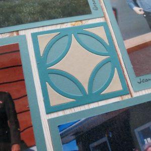 Mosaic Moments Triple Diamond Rings