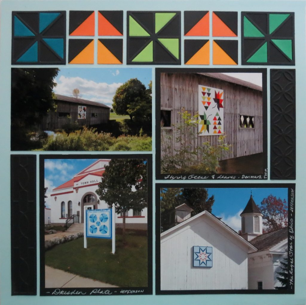Mosaic Moments TYS Graphic Shapes 2 Paper Quilt on the Grid