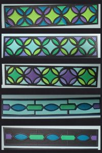 Mosaic Moments TYS Graphic Shapes 2 Paper Quilt options