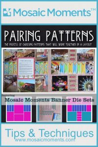 Mosaic Moments Banner Die Sets