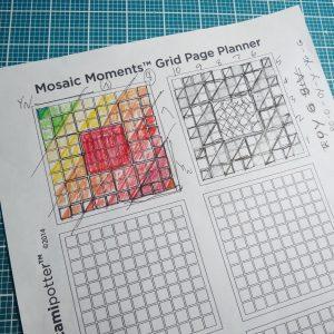 Mosaic Moments Corner Tiles Dies