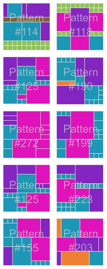Mosaic Moments Patterns