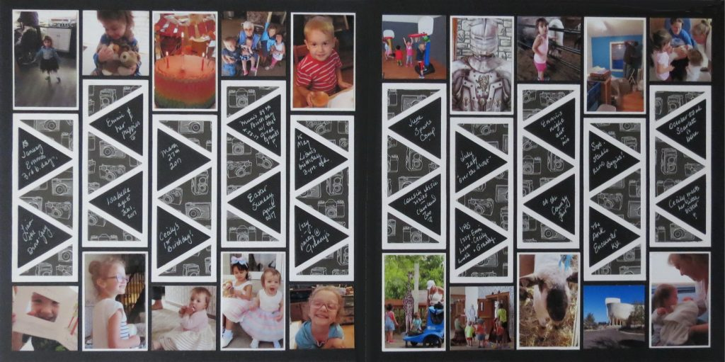 Mosaic Moments Triangles 2 x 5 Die