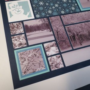 Mosaic Moments featuring the Strip Frame Dies