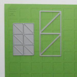 Mosaic Moments Jumbo Corner Ties and Corner Tiles Dies
