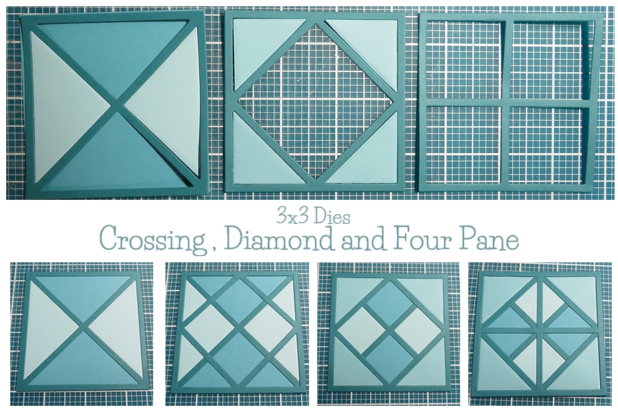 Mosaic Moments New Die Trio - layering dies