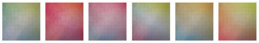 Mosaic Moments New Die Trio -Ombre Grids