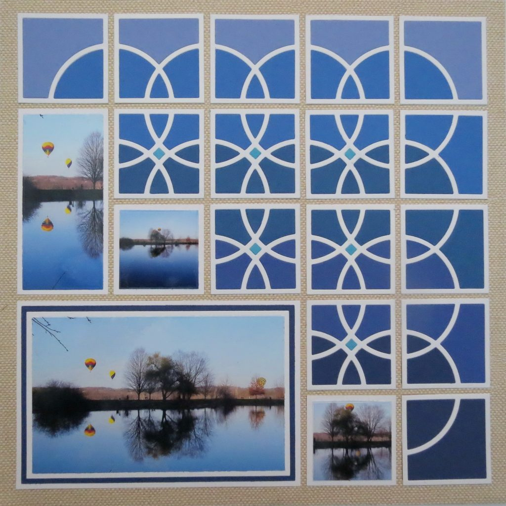 Mosaic Moments Photo Tips: Reflections featuring the Loop 2x2 Die Set