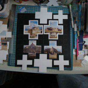 Mosaic Moments Advanced Techniques Tips for the Four Corner Cut Out Die
