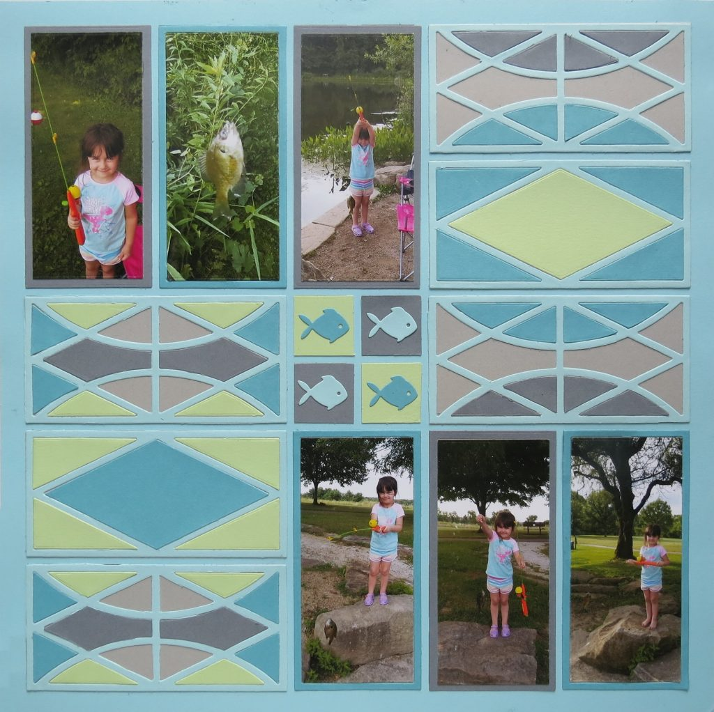 Mosaic Moments Designing with Dies: the Harlequin Die Set