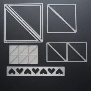 Mosaic Moments Triangles Three Ways