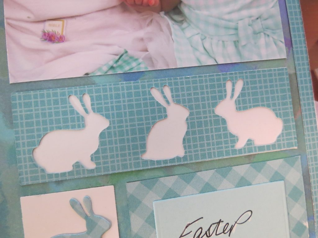 Bunny Hop Border Die set