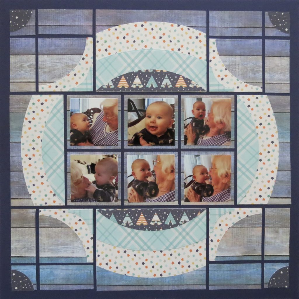 Mosaic Moments Horizon Die Family