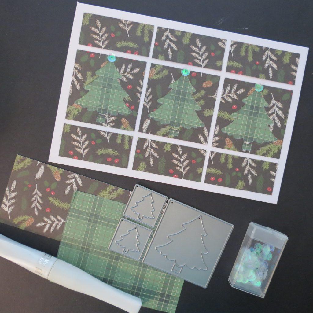Mosaic Moments Holiday Cards