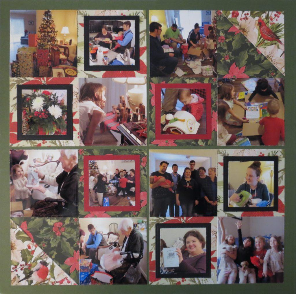 Mosaic Moments 5 Sq Blocking Die Set