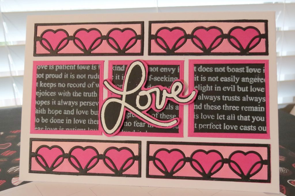 Mosaic Moments Valentine Grid Cards