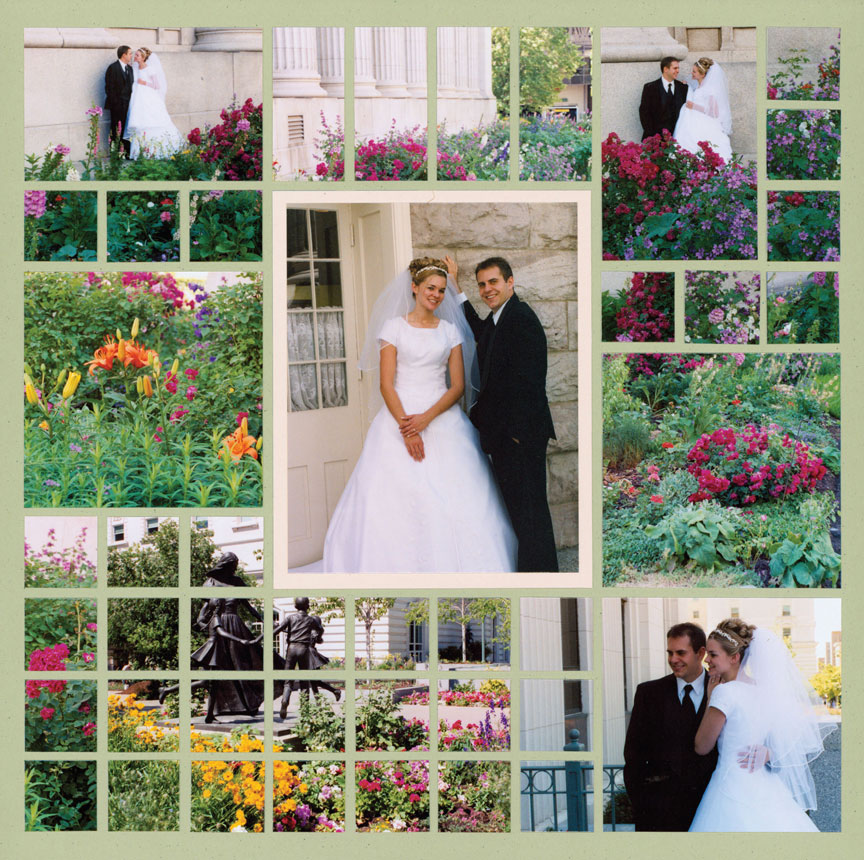 14 Beautiful Wedding Scrapbook Page Ideas You Need To Scraplift