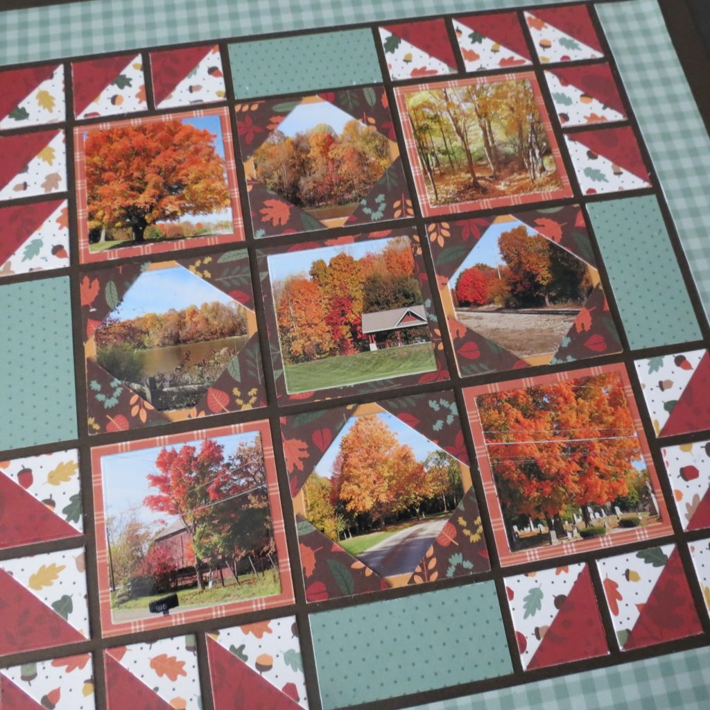 Creating a Paper Quilt